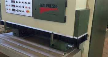 Brush sander Italpresse