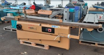 SCM Table saw + moulder