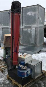 Mašina za izduvne gasove 1227-17