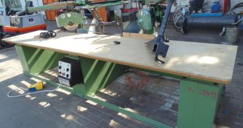 Double radial cut off saw 2914-19