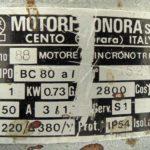 Podaci o motoru